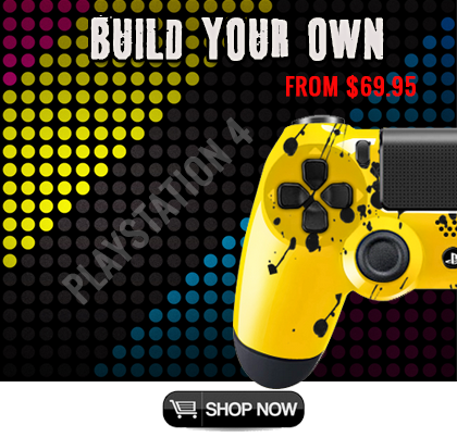 PS4 Modded Controllers Build Your Own