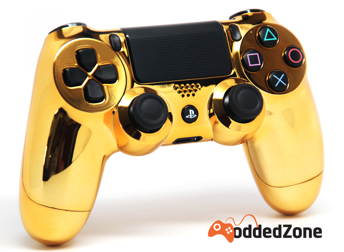 Home Design Games Ps4 Quot Chrome Gold Quot Ps4 Modded Controller