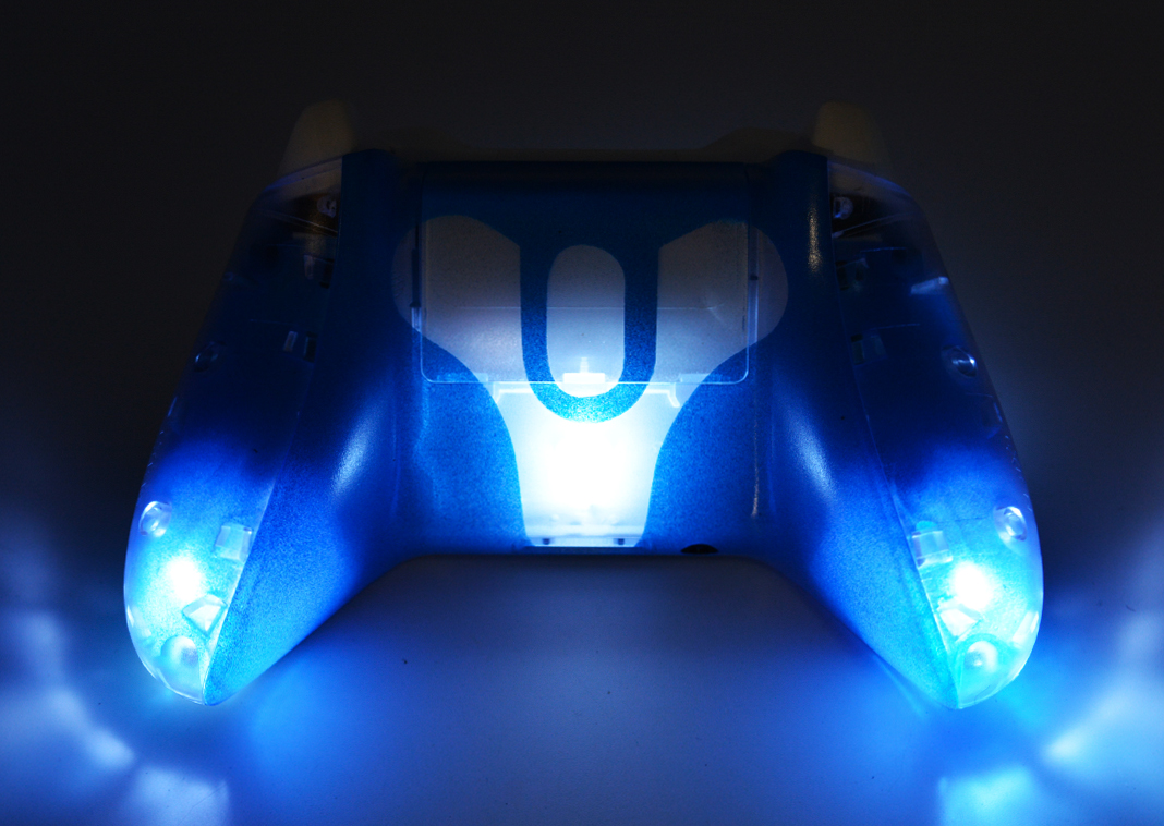 Clear Illuminating Xbox One Modded Controller