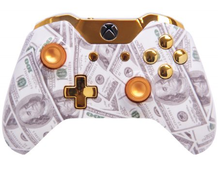 """GOLD MONEY"" XBOX ONE MODDED CONTROLLER"