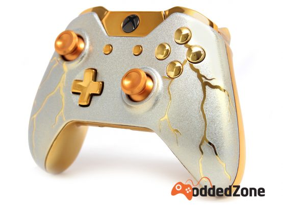 Xbox 360 Controller Skins Gold