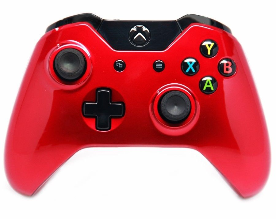 Xbox One Red GLOSSY RED XBOX ONE MO...
