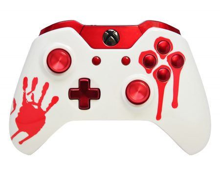 """BLOODY"" XBOX ONE MODDED CONTROLLER"