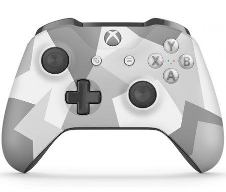 Winter Forces Xbox One S modded controller