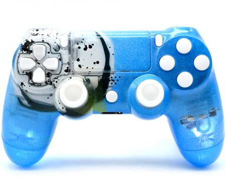 Destiny Illuminating Custom PS4 modded controller