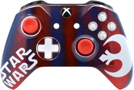 Star Wars xbox one s rapid fire modded controller