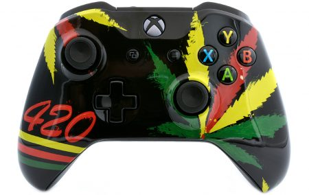 420 Xbox One S custom modded Controller