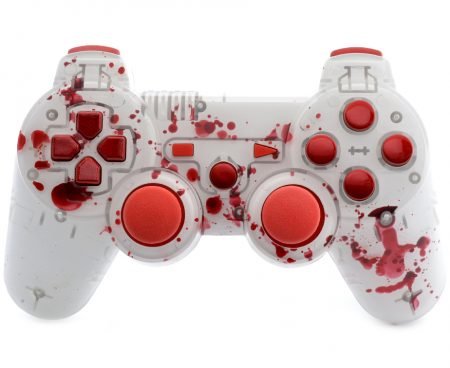Blood 3D PS3 custom modded controller