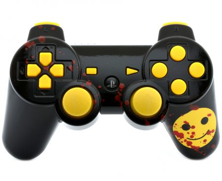 Smile Face PS3 custom modded controller