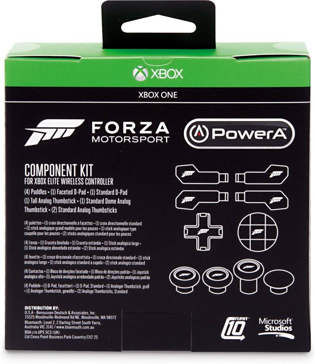 powera forza component kit for xbox one elite wireless controller
