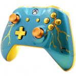 """""""BLUE THUNDER"""" XBOX ONE S MODDED CONTROLLER"""
