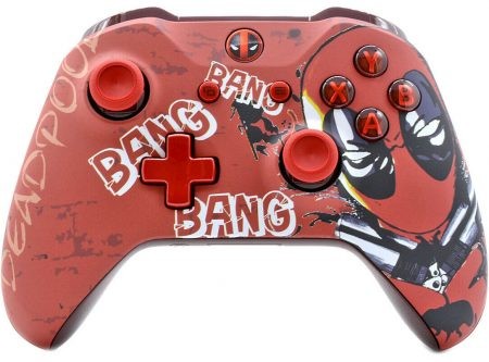 """DEADPOOL"" XBOX ONE S MODDED CONTROLLER"
