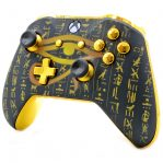 """""""ALL SEEING EYE GOLD"""" XBOX ONE S MODDED CONTROLLER"""