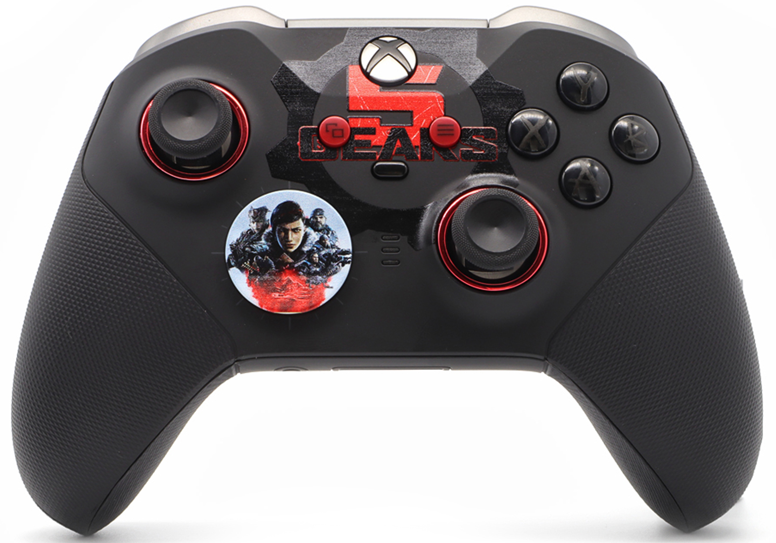 """GOW5"" xbox one elite 2 modded controller"
